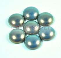 Tekla üveg kaboson - steel blue golden shine - 14mm