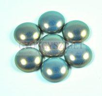 Tekla üveg kaboson - Blue Golden Shine - 14mm