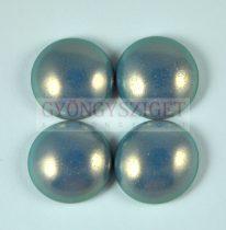 Tekla üveg kaboson - steel blue golden shine - 18mm