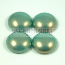 Tekla üveg kaboson - turquoise golden shine- 12mm