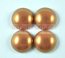 Tekla üveg kaboson - powder golden shine - 18mm