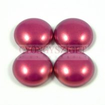 Tekla üveg kaboson - fuchsia golden shine - 14mm