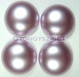 Tekla üveg kaboson - világos lila - 16mm