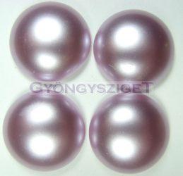 Tekla üveg kaboson - világos lila - 20mm