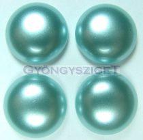 Tekla üveg kaboson - light turquoise - 16mm