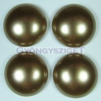 Tekla üveg kaboson - mogyoró- 20mm