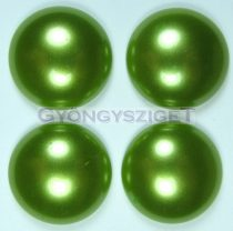 Tekla üveg kaboson - light olivin - 16mm