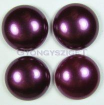 Tekla üveg kaboson - Eggplant - 16mm