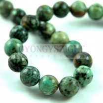 African Turquoise - round bead - 10mm (appr. 36 pcs/strand)