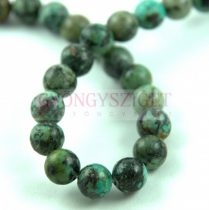 African Turquoise - round bead - 6mm (appr. 60 pcs/strand)