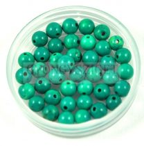 Turquoise round bead - 4mm