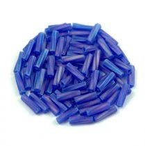 Miyuki csavart szalmagyöngy - 177f - Matte Transparent Cobalt AB - 6mm