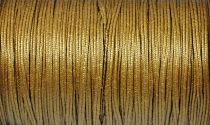 Amerikai Sujtás zsinór - antique gold - 3mm