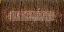 Amerikai Sujtás zsinór - bronze - 3mm