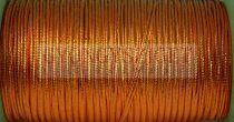 Amerikai Sujtás zsinór - metallic copper - 3mm