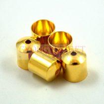 Végzáró - arany színű - 8x9mm
