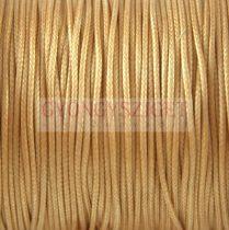 Viaszolt textilszál - Beige  - 1mm