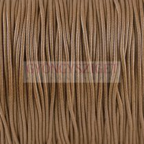 Viaszolt textilszál - Brown - 1mm