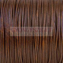 Viaszolt textilszál - Dark Brown - 1mm