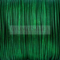Viaszolt textilszál - Green - 1mm