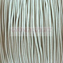 Viaszolt textilszál - Light Grey - 1mm