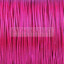 Viaszolt textilszál - Magenta - 1mm
