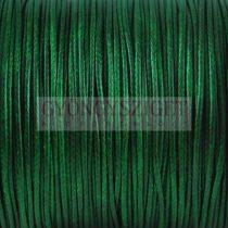 Viaszolt textilszál - Moss Green - 1mm