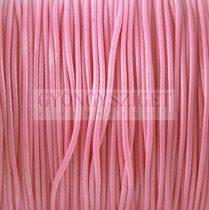 Viaszolt textilszál - Pink - 1mm