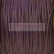 Viaszolt textilszál - Purple - 1mm