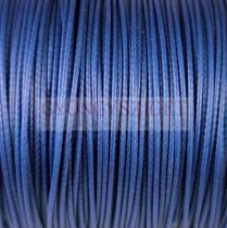 Viaszolt textilszál - Royal Blue - 1mm