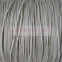 Viaszolt textilszál - szürke - 0.5mm
