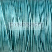 Viaszolt textilszál - turquoise - 0.5mm