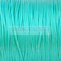 Viaszolt textilszál - Turquoise - 1mm