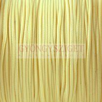 Viaszolt textilszál - Vanilla - 1mm