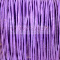 Viaszolt textilszál - Violet - 1mm