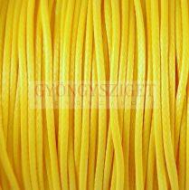 Viaszolt textilszál - Yellow - 1mm