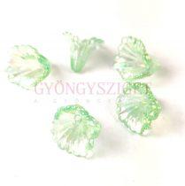 Műanyag virág- Erinite AB - 12x10mm