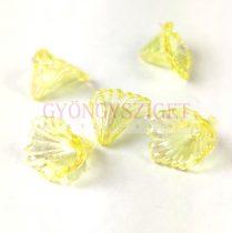 Műanyag virág - Jonquil AB - 12x10mm