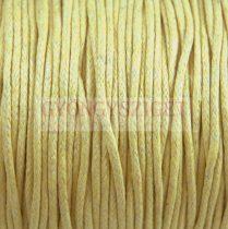 Viaszolt textilszál - Beige - 2mm
