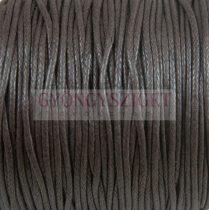 Viaszolt textilszál - Choco - 2mm