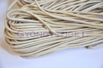 Viaszolt textilszál - ekrü-2mm