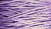 Viaszolt textilszál - lila
