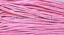 Viaszolt textilszál - rose-2mm