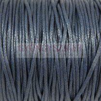 Viaszolt textilszál - sötét kék - 2mm