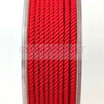 Sodrott zsinór - 2mm - piros