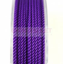 Sodrott zsinór - 2mm - purple