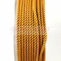 Sodrott zsinór - 2mm - gold