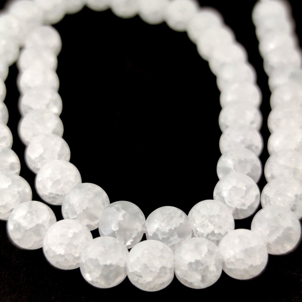 Mountain crystal beads