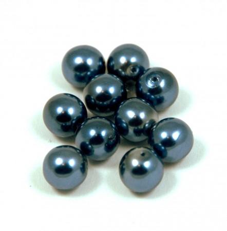 Golyó alakú gyöngyök - 6 mm