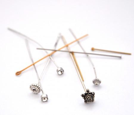 Pins, jump rings